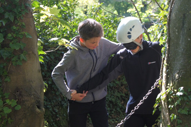 Highfield pupils take on the great outdoors