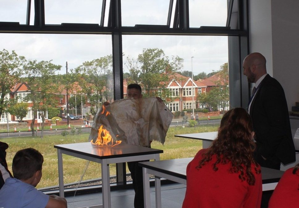 Year 6 pupils ignite the flames of learning at Highfield