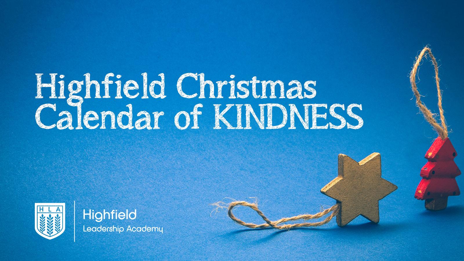 Highfield Calendar of Kindness