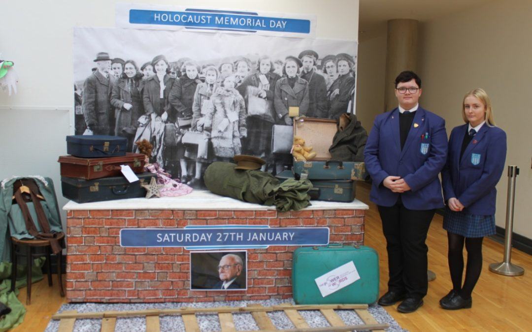Pupils explore Holocaust Memorial Day themes