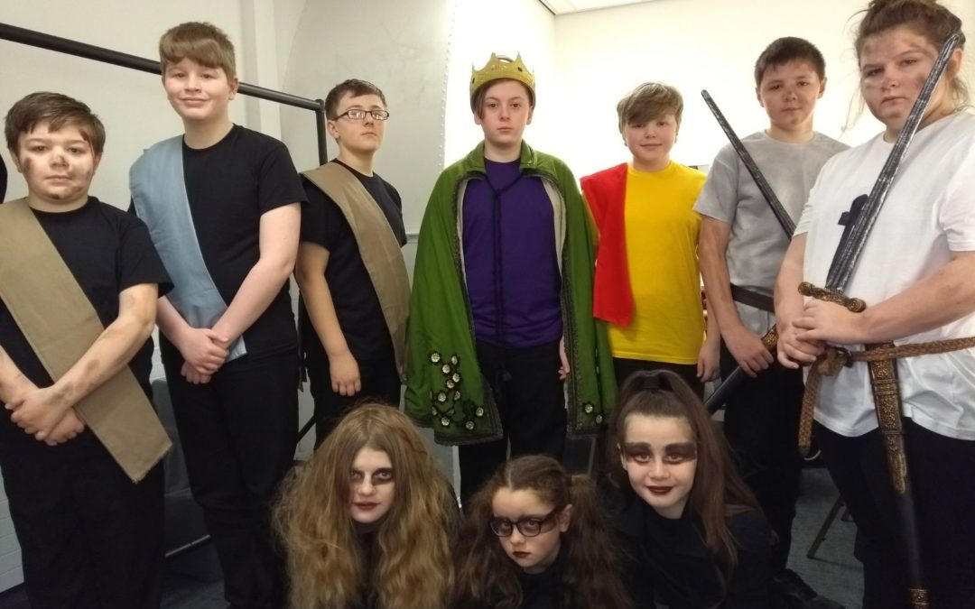 Budding Highfield actors put on a Grand Shakespeare show