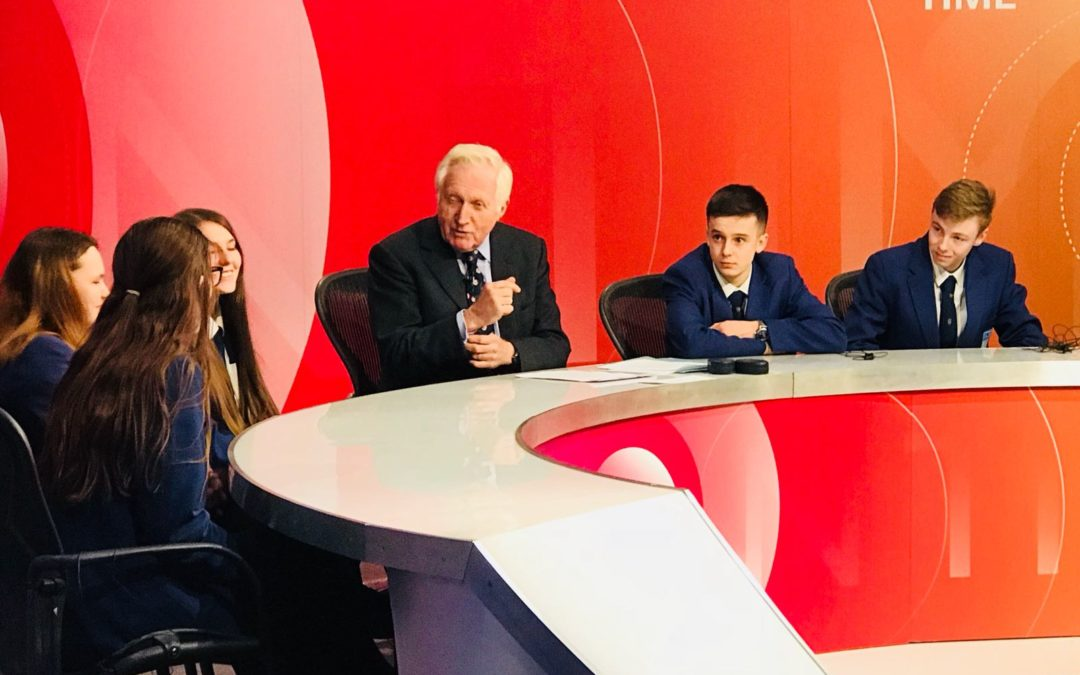 Highfield hosts BBC's Question Time