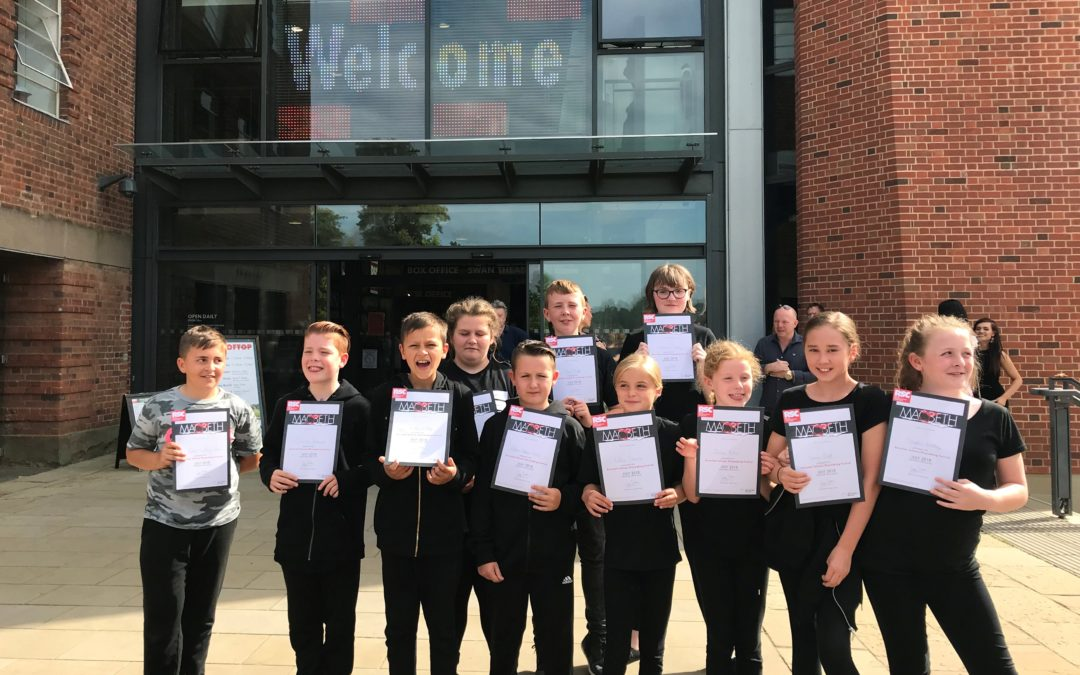 Blackpool pupils perform Macbeth in home of Shakespeare