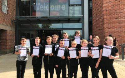 Blackpool pupils perform Macbeth in the home of Shakespeare