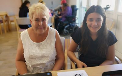 Highfield pupils help older generation develop digital skills