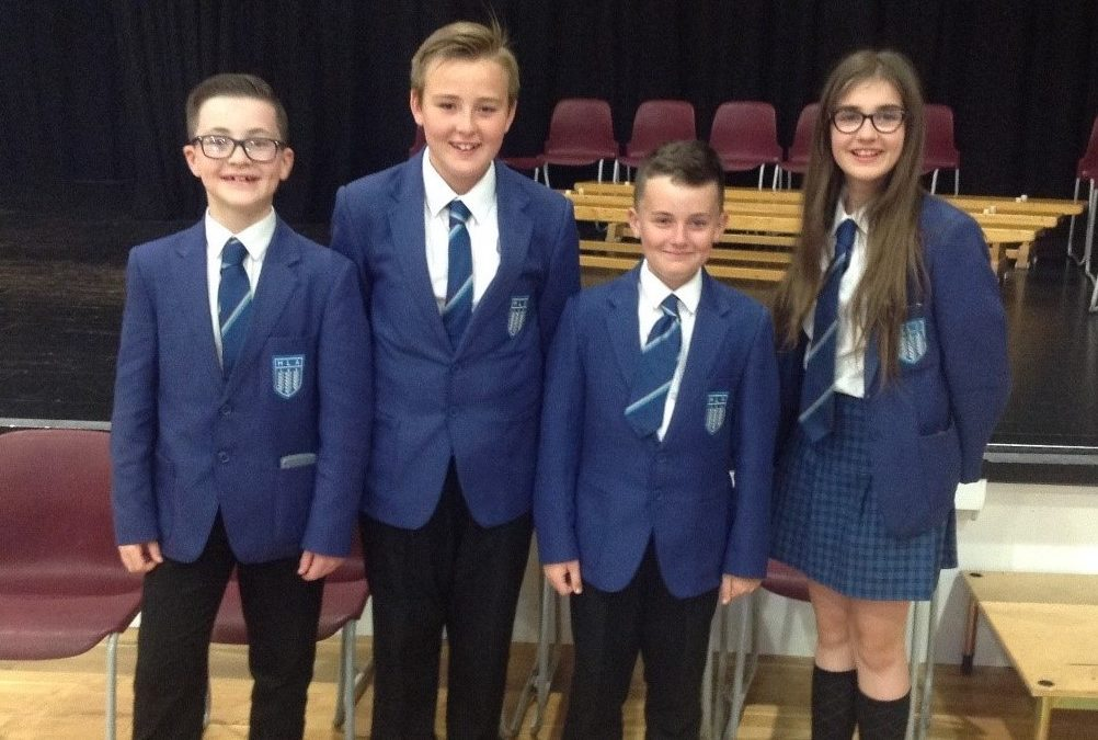 Highfield face their opposite numbers from local schools in Maths Challenge