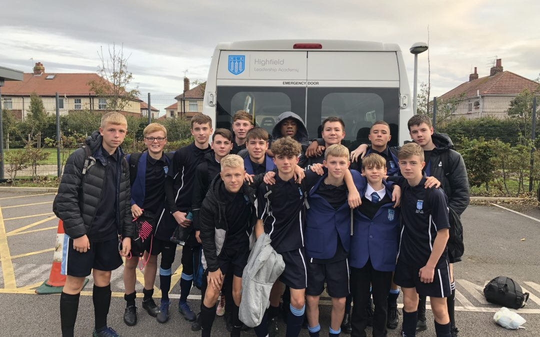 Highfield's Football Team Get a Kick Out of Winning Schools Tournament