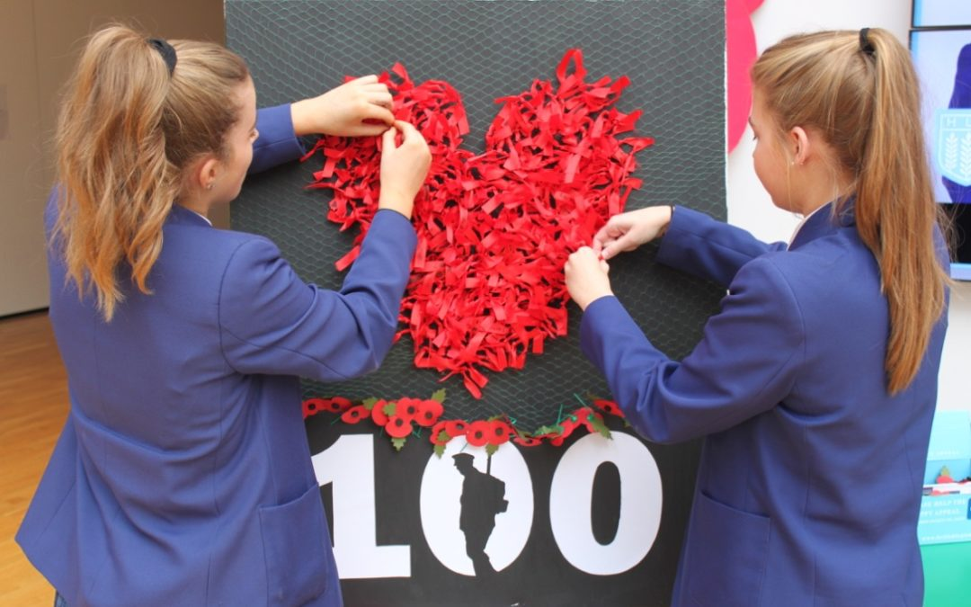 Pupils Mark Centenary of End of Great War with Moving Act of Remembrance