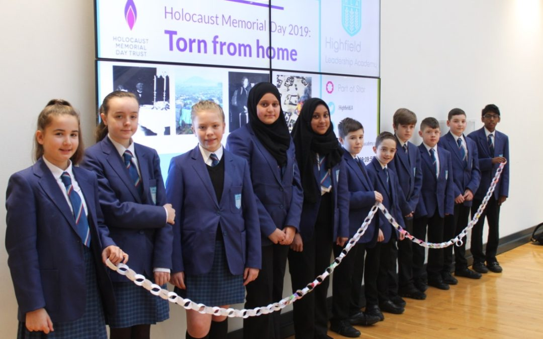 Pupils explore themes around genocide to mark Holocaust Memorial Day