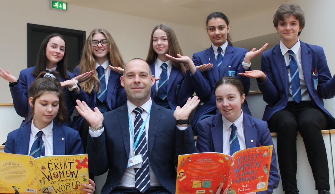 Pupils celebrate women's achievements for International Women's Day