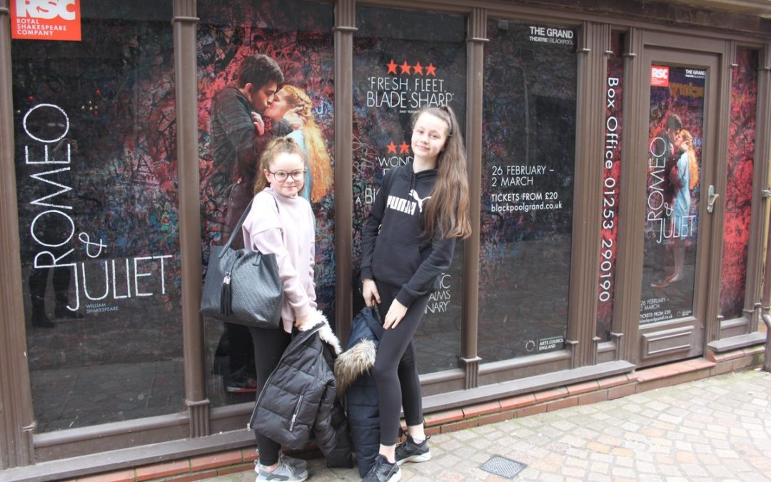 All the world's a stage for two GCSE drama students