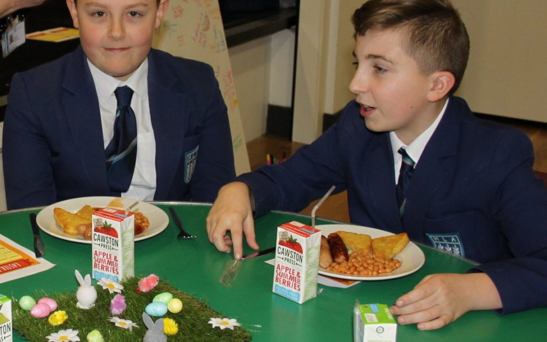 Pupils rewarded with Easter treats for good attendance
