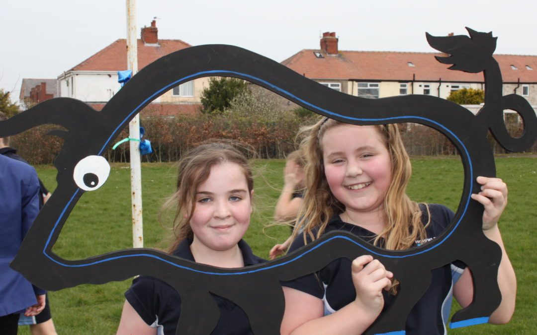 Pupils have fun on Friendship Run