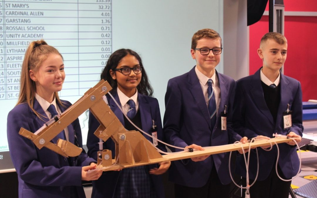 Highfield pupils crowned Blackpool Gazette's Young Engineers 2019