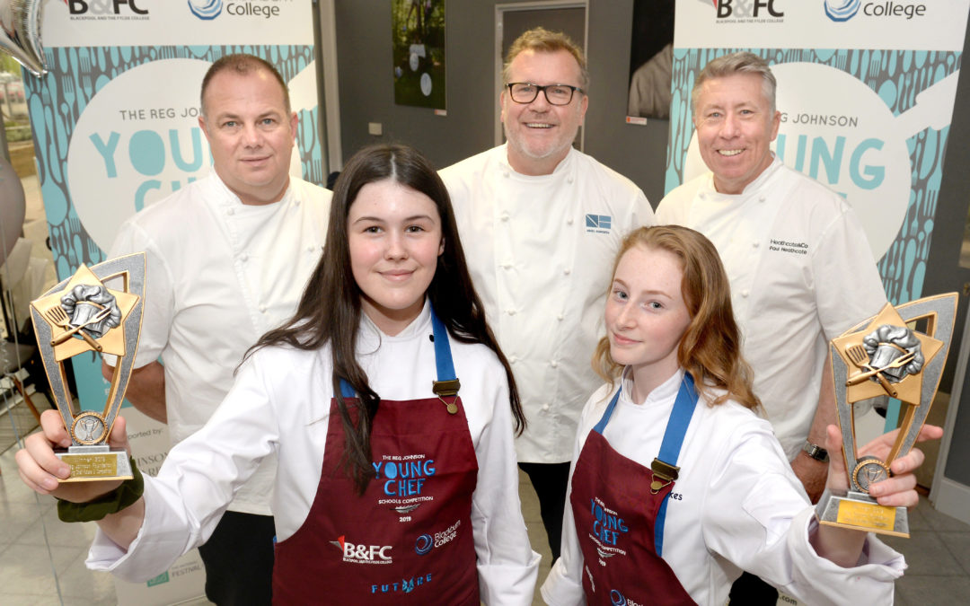 Highfield pupils cook up a storm to win prestigious culinary competition