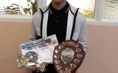 Pupil drums up win in music competition