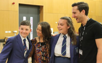 Pupils get tips on how to glide through the ranks from former pupil