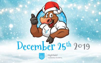 Be Your Best Christmas Calendar – 25th December 2019