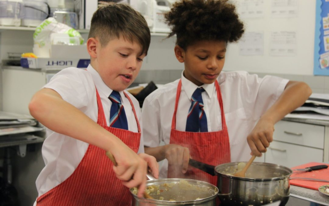 Pupils cook-up 'kindness' for South Shore's homeless