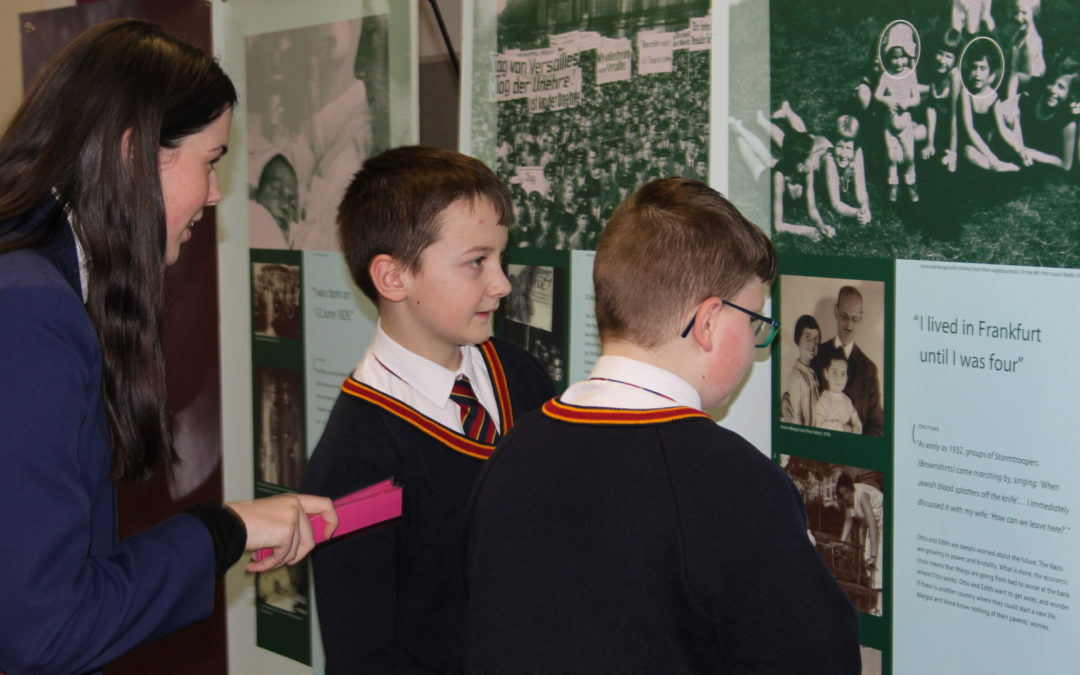Pupils learn important lessons from Anne Frank