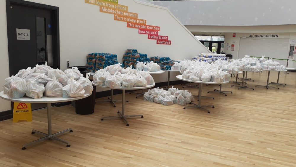 Pupils and staff help the vulnerable in coronavirus appeal